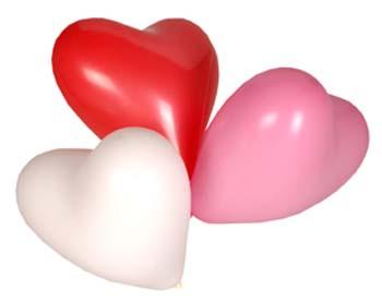 geboorte krans met ballonnen